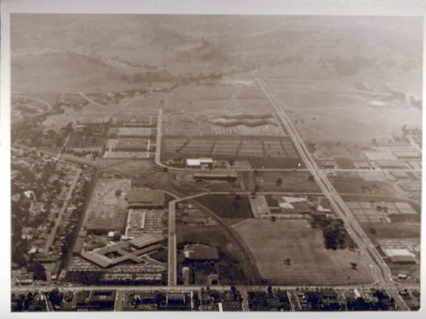 Aerial view of Stanford Industrial Park