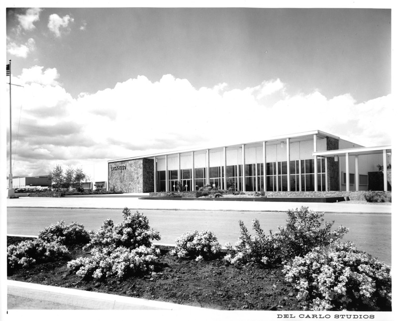 Partial View of the Lockheed Sunnyvale Building