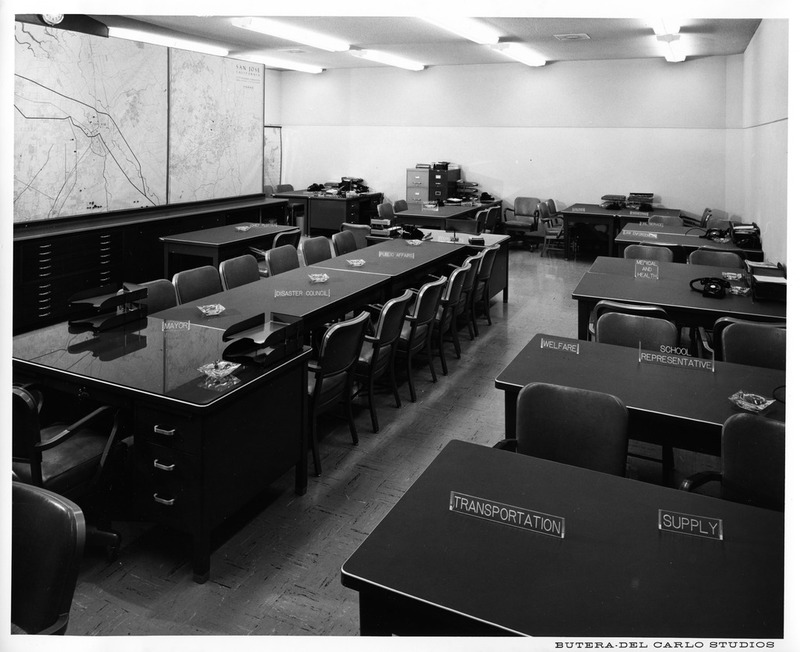 Conference Room Inside the 1958-2008 San Jose City Hall