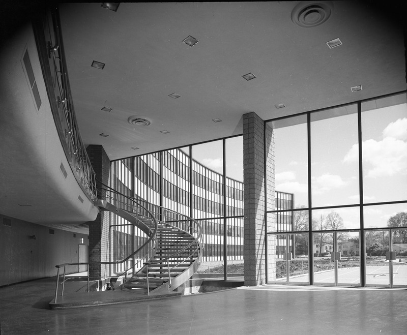 Staircase and Lobby of the 1958-2005 San Jose City Hall Building