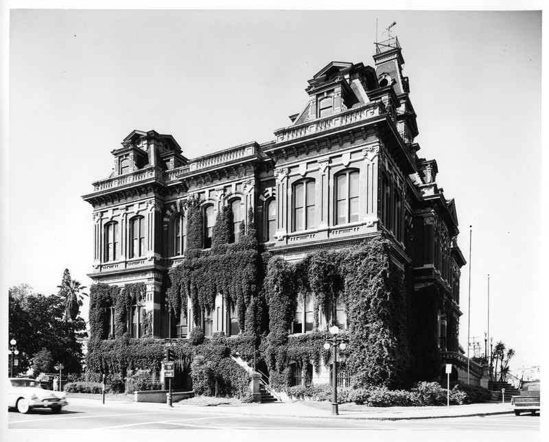 View of the Old San Jose City Hall Building