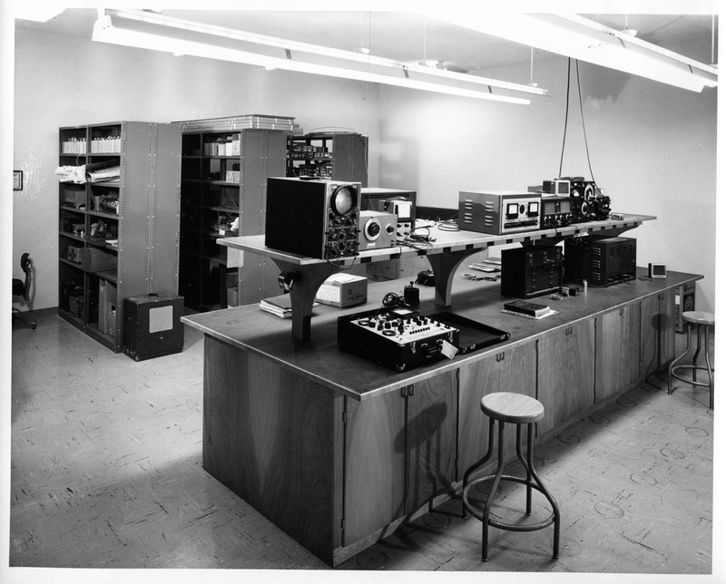 Electronic Communications Equipment Room Inside the 1958-2005 San Jose City Hall