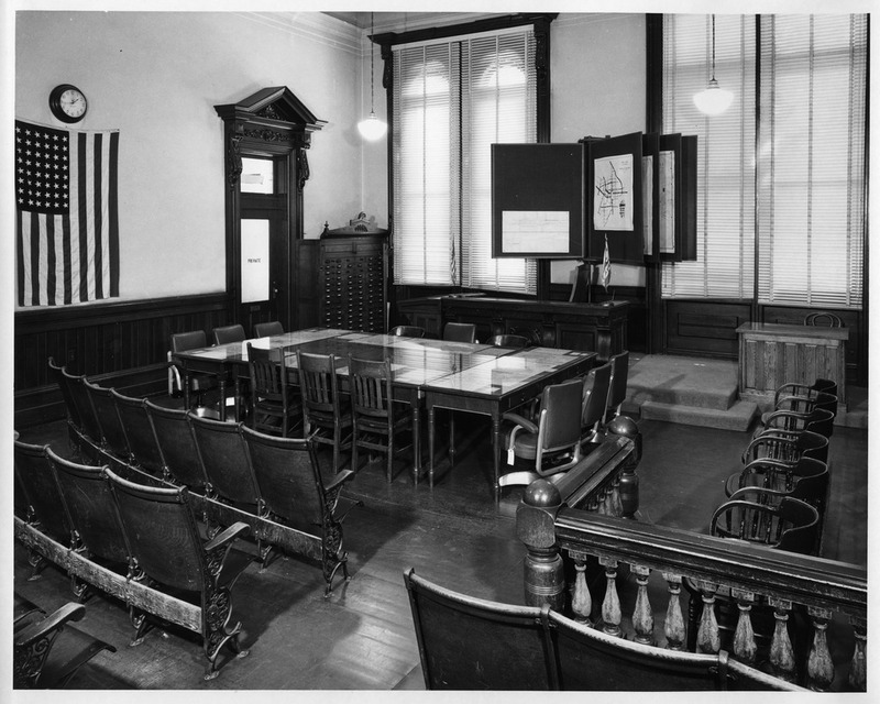 View of the Old San Jose City Hall Council Chambers